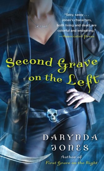 Book Review – Second Grave on the Left (Charley Davidson #2) by Darynda Jones