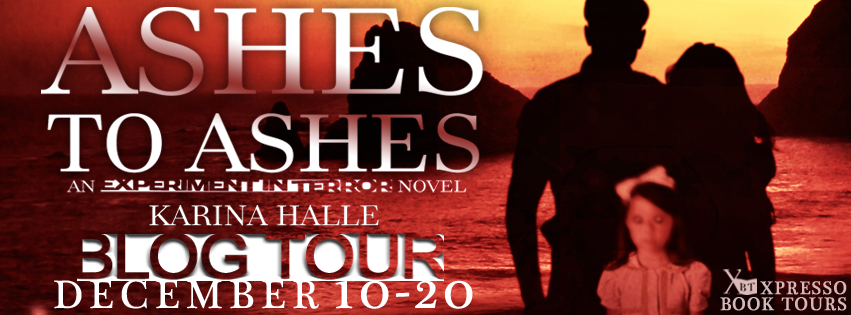 Book Tour Review + Giveaway! Ashes to Ashes (Experiment in Terror #8