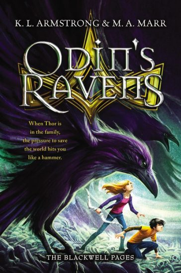Book Review – Odin's Ravens (The Blackwell Pages #2) by K.L. Armstrong & M.A. Marr