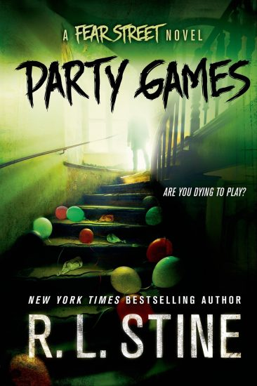 Ominous October – Party Games: A Fear Street Novel by R.L. Stine