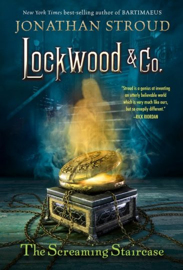 Ominous October – The Screaming Staircase (Lockwood & Co. #1) by Jonathan Stroud