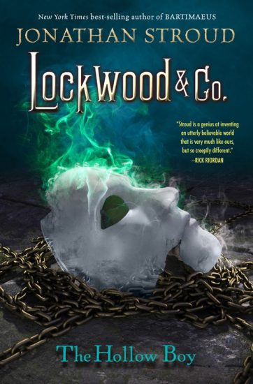 Ominous October – The Hollow Boy (Lockwood & Co. #3) by Jonathan Stroud