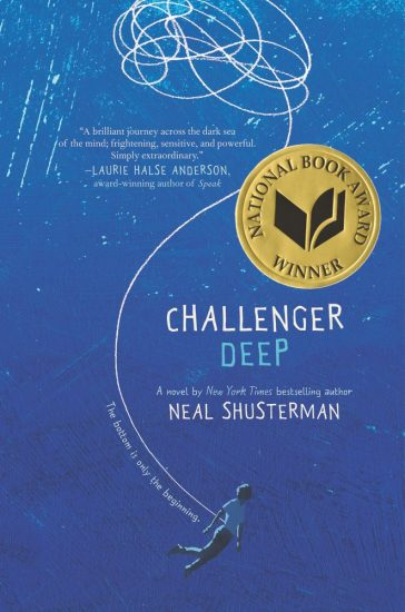 National Book Award 2015 Finalist – Challenger Deep by Neal Shusterman