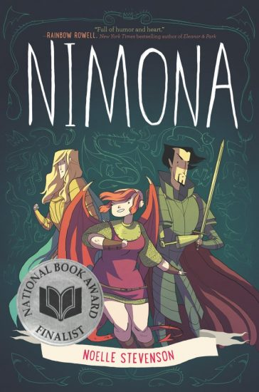 National Book Award 2015 Finalist – Nimona by Noelle Stevenson