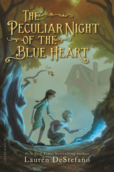 Book Review – The Peculiar Night of the Blue Heart by Lauren DeStefano