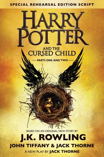 Book Review – Harry Potter and the Cursed Child by J.K. Rowling, Jack Thorne, John Tiffany