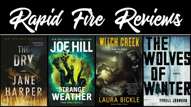 Rapid Fire Reviews - The Dry, Strange Weather, Witch Creek