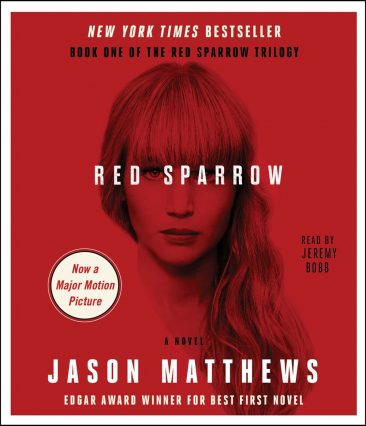 Audiobook Review – Red Sparrow (Red Sparrow Trilogy #1) by Jason Matthews