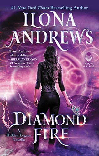 Waiting on Wednesday – Diamond Fire (Hidden Legacy #3.5) by Ilona Andrews