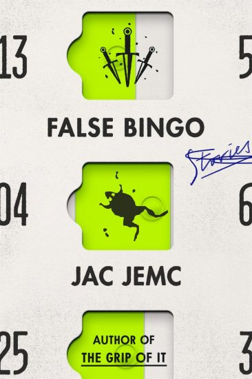 Waiting on Wednesday – False Bingo: Stories by Jac Jemc