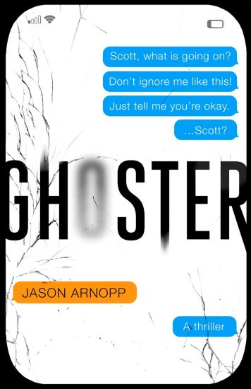 Waiting on Wednesday – Ghoster by Jason Arnopp